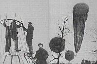 Подготовка к запусту стратостата «Осоавиахим-1», 1934 год.