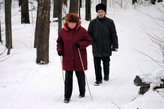 В любую погоду надо гулять, «парковый» кислород полезнее.