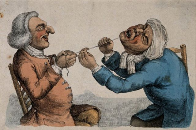 Наши предки лечили зубы варварскими методами.