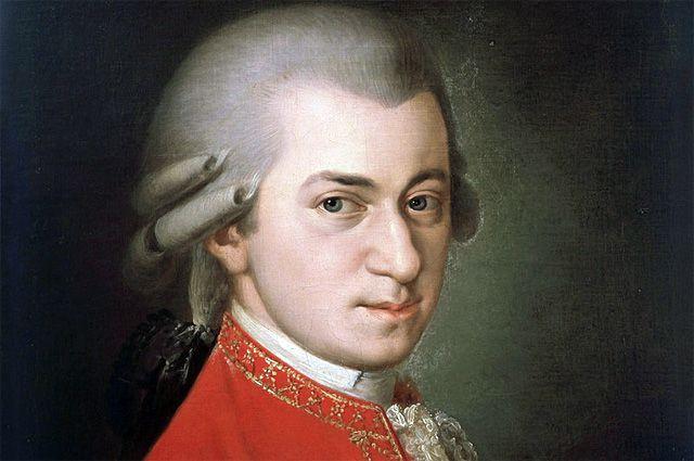 Посмертный портрет Моцарта кисти Барбары Крафт (1819).
