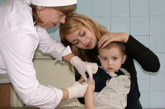 Среди заболевших гриппом есть и дети