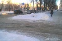Любая периферийная дорога даже в самом центре города - полоса препятствий.