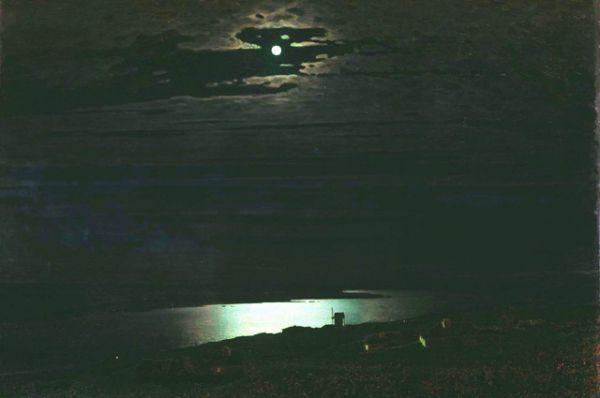 «Лунная ночь на Днепре», 1880