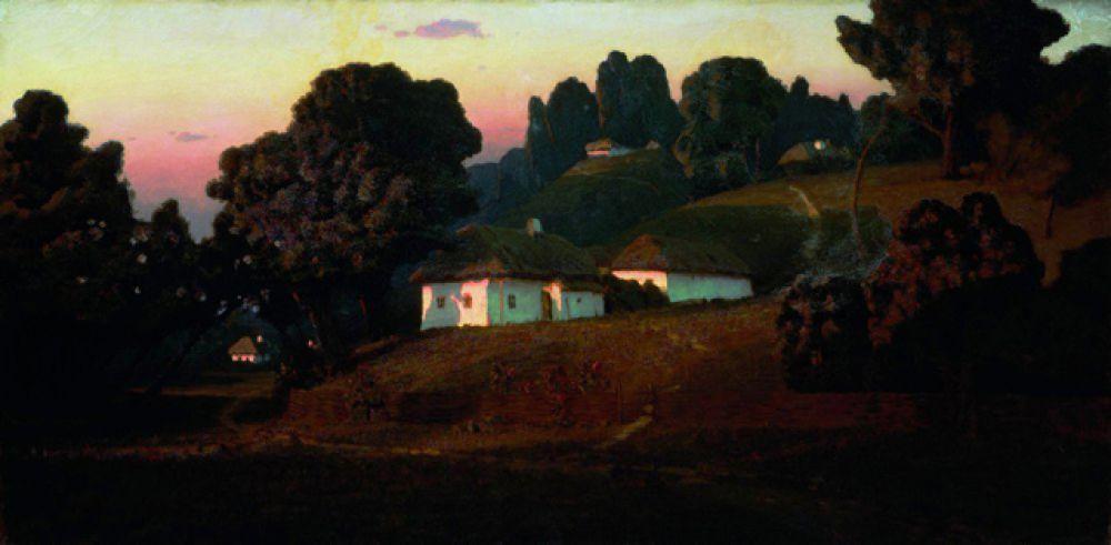«Вечер на Украине», 1878