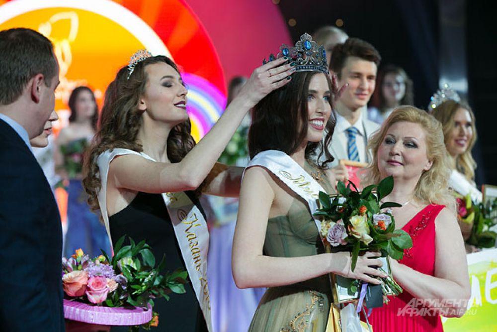 В результате «Мисс Казань» стала 21-летняя Софья Мустафина.