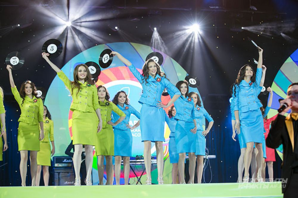 26 января в КРК «Пирамида» прошел финальный этап конкурса красоты «Мисс Татарстан».