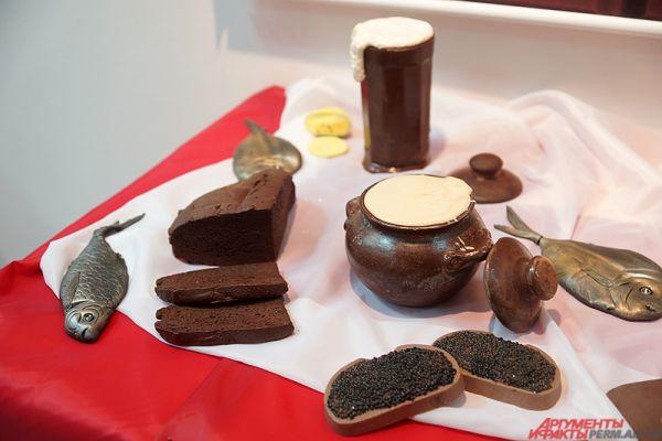 Пивной набор от крымского шоколатье.