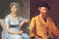Джейн Остин и Эдуард Мане.