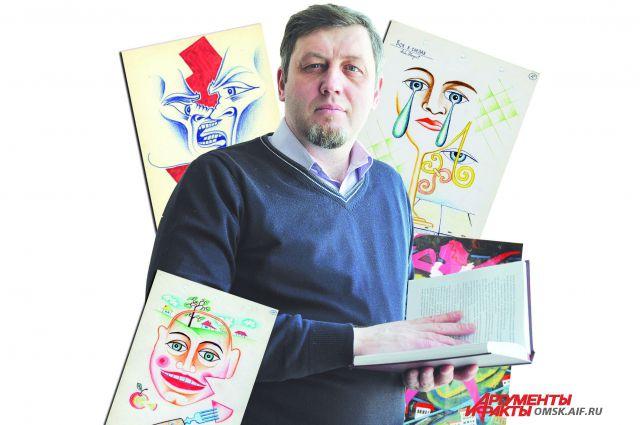 Александр Сапунов планирует поставить в феврале моноспектакль по произведениям Аркадия Кутилова.