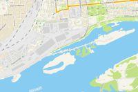 Карта Красноярска.