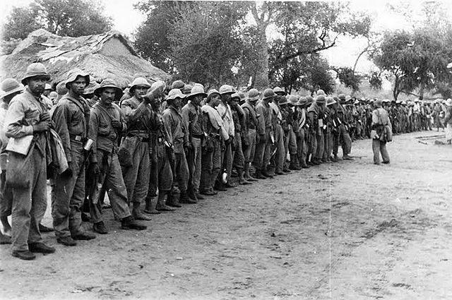 Парагвайские солдаты, 1932 год.