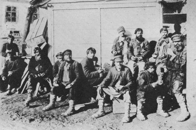 Крестьяне, которых могли учесть в ходе переписи 1897 года.