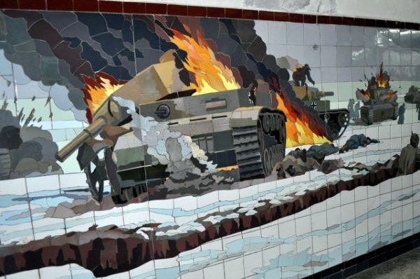 Тематика этих картин - Великая Отечественная война...