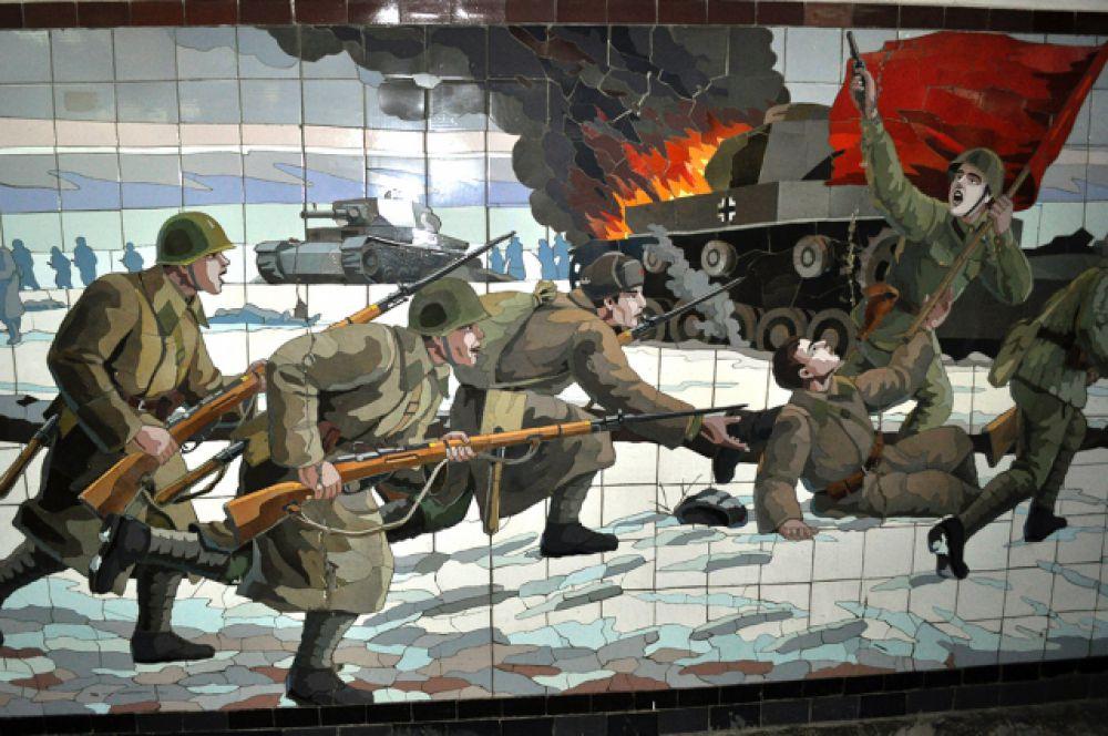 ...и освобождение города Ростова-на-Дону.