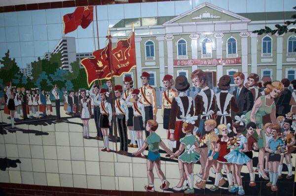 Первые мозаичные панно в ростовских подземных переходах появились в 1979 году.
