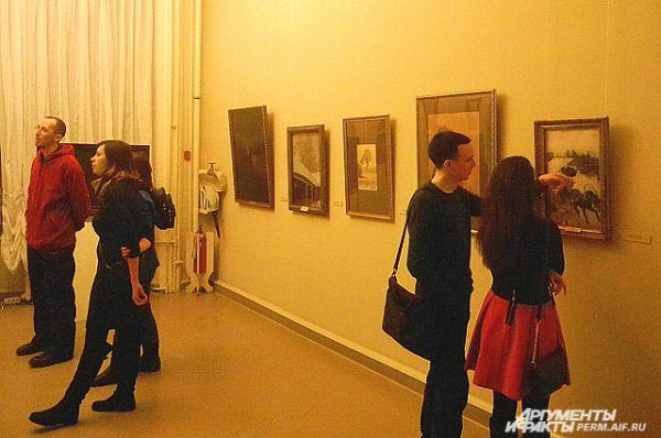 Выставка не вызвала такого ажиотажа, как в Москве.