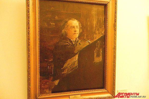 С 1946 года в коллекции галереи находится «Портрет композитора Александра Николаевича Серова» (1889). Это первый вариант портрета, который находится в Русском музее в Санкт-Петербурге. В нижней части холста зрители могут увидеть любопытную подпись: «Портрет работы В. Серова. Подлинность удостоверяю. Савва Мамонтов».