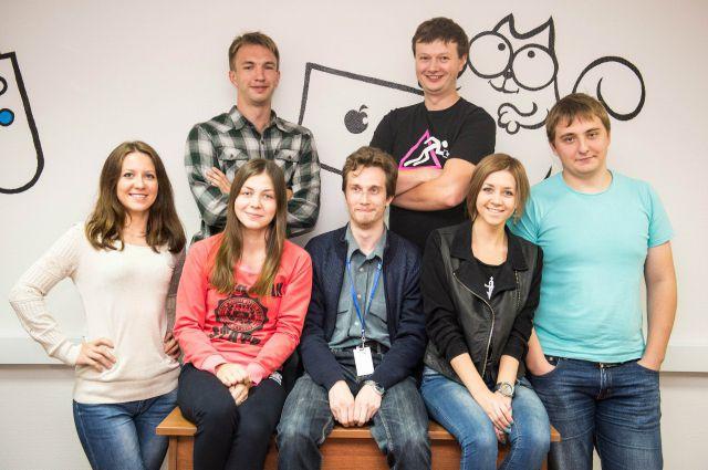 Команда студии.