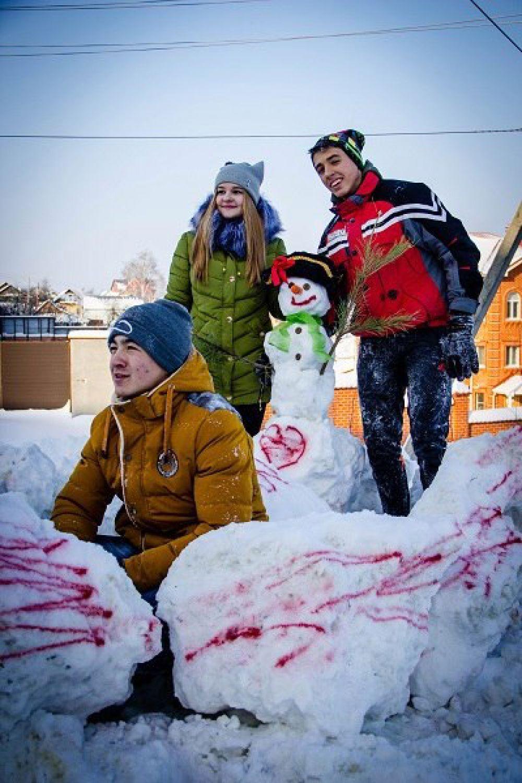 Снеговик Маша и ее создатели