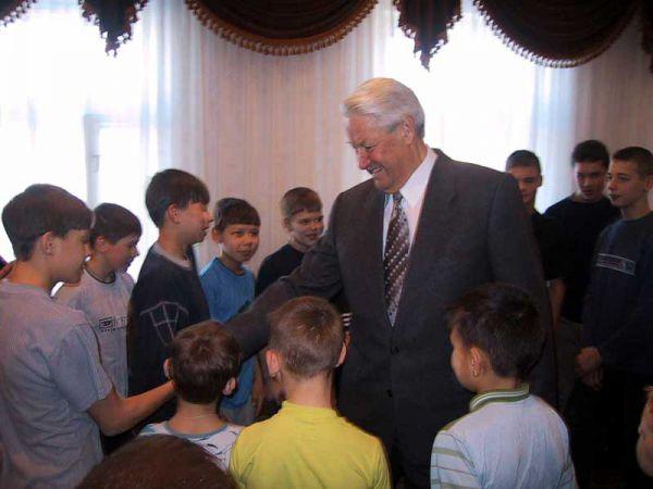 Ельцин в Раифском спецучилище, 2002 год