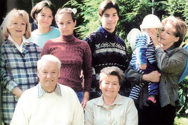 Семья Ельцина.