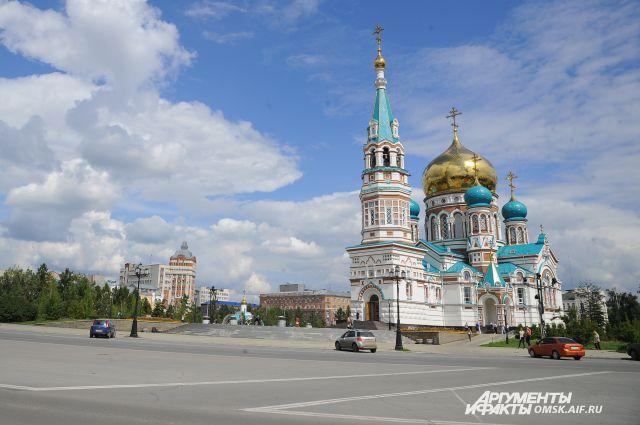 Икона прибыла в город по благословению главы Омской митрополии митрополита Омского и Таврического Владимира.