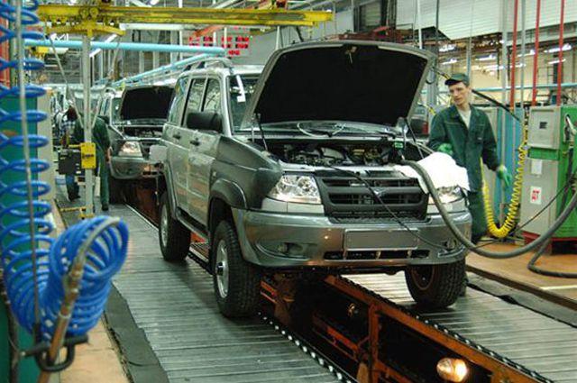 УАЗ и ЗМЗ возобновили производство