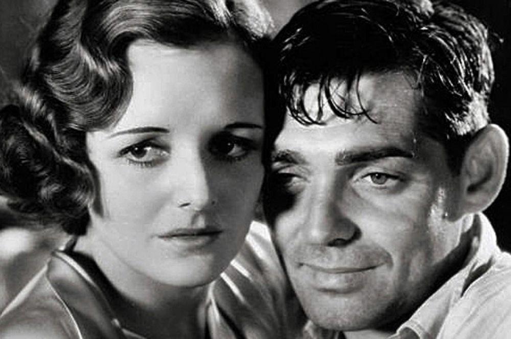 С актрисой Мэри Астор в фильме «Красная пыль», 1932.