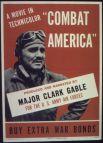 После гибели жены Кларк Гейбл, вопреки противодействию правительства и армии, стал стрелком на самолёте B-17 и участвовал в авианалётах на Германию. В ноябре 1943 года вернулся в США и продолжил работу в кино.