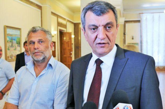 Алексей Чалый и Сергей Меняйло