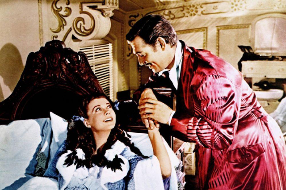 В этом же году актёр сыграл, пожалуй, главную роль в своей карьере, которая принесла ему мировую известность – роль Ретта Батлера в картине Флеминга «Унесённые ветром».