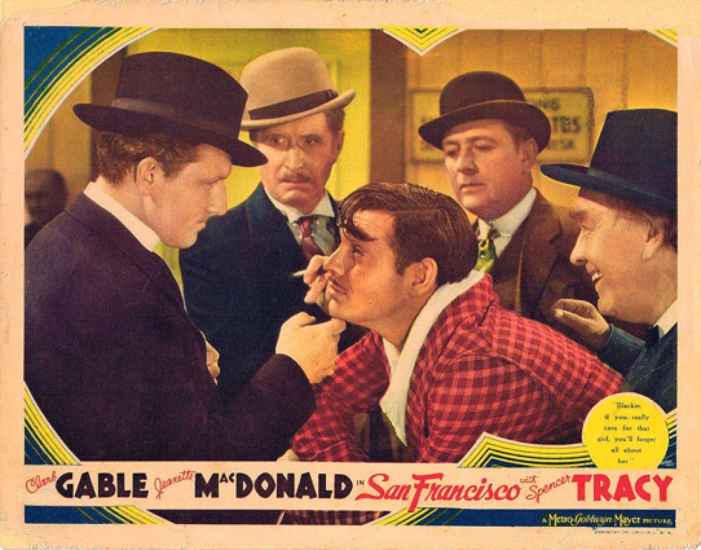 Постер к фильму «Сан-Франциско», 1936.