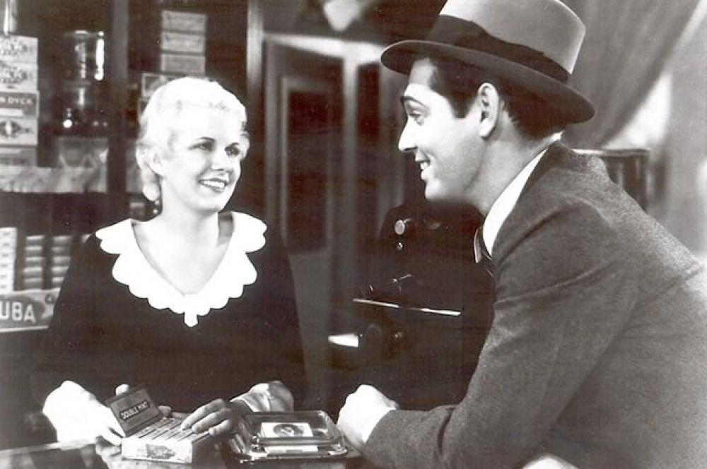 Кларк Гейбл и Джин Харлоу в фильме «Секретная шестёрка», 1931.