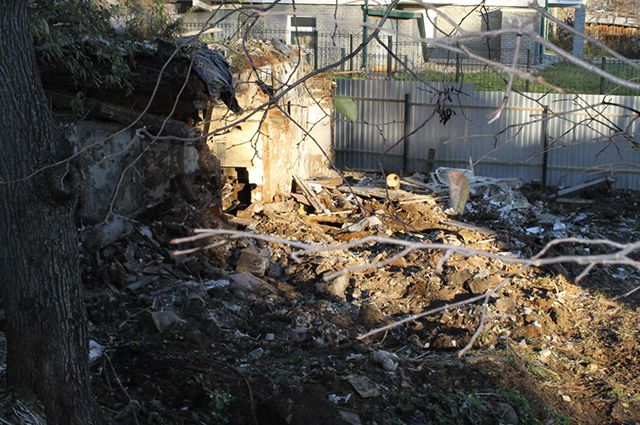 Флигель Хохрякова уничтожили этой осенью.