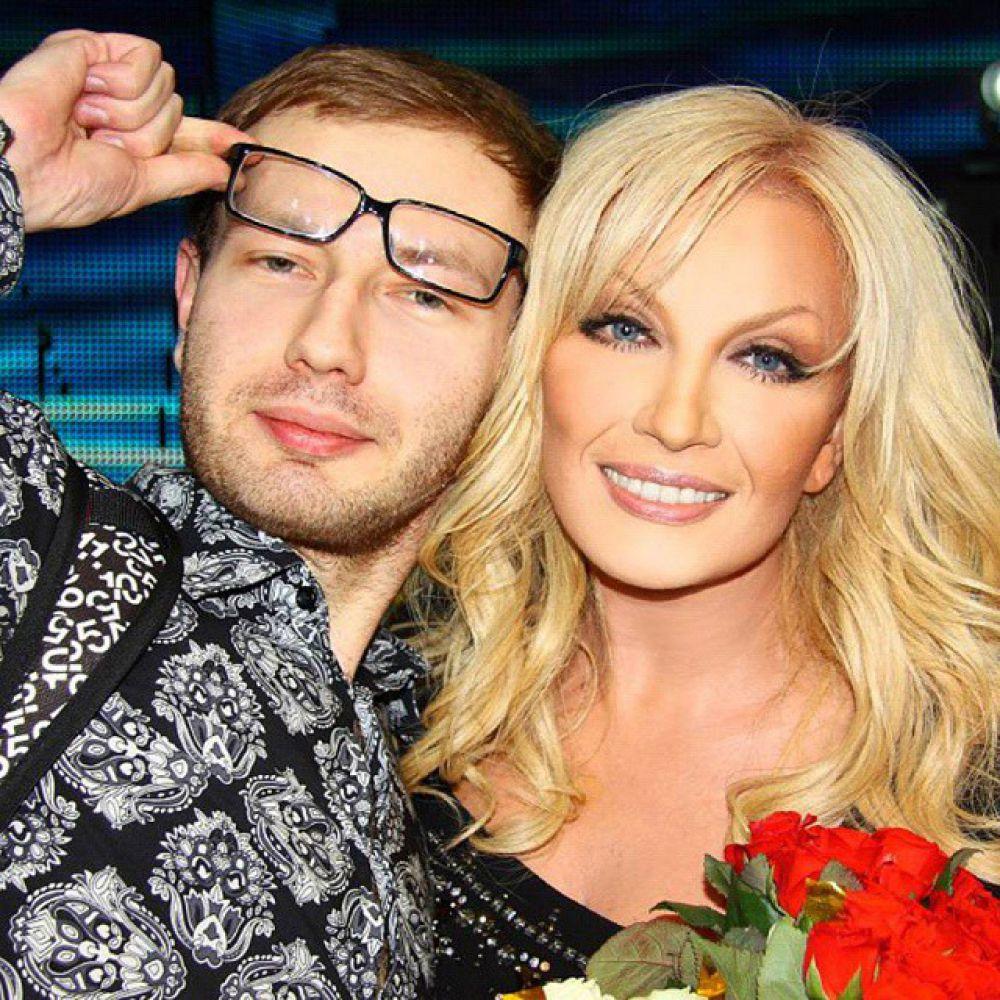 Таисия Повалий и сын Денис