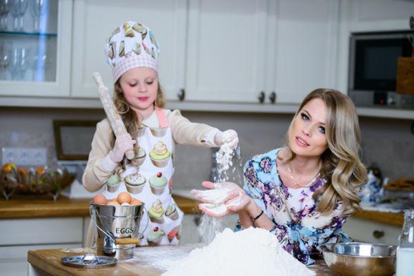 Ольга Фреймут  и дочь Злата