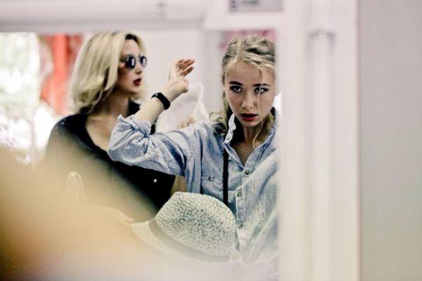 Снежана Егорова и дочь Александра