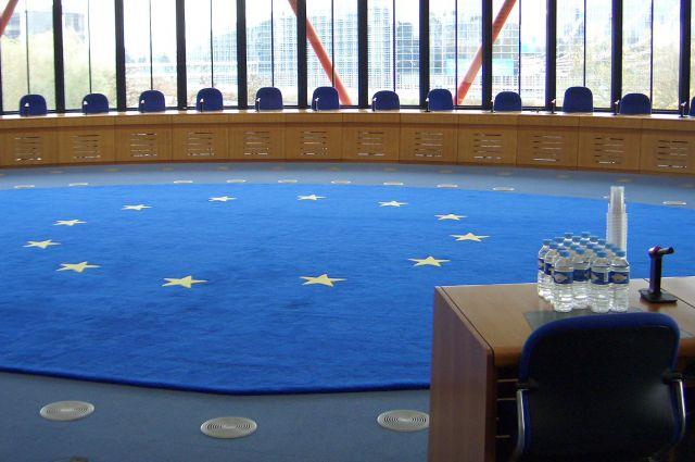 Зал заседаний Европейского суда по правам человека