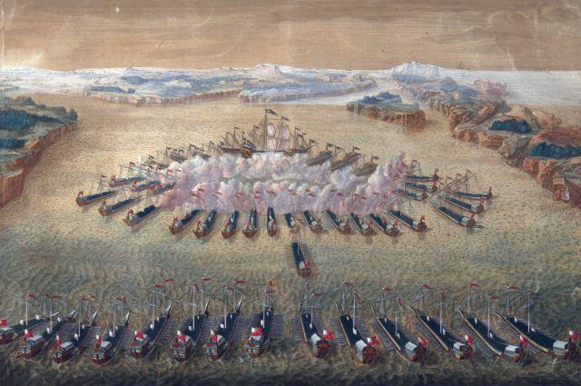В 1720 году был издан «Морской указ Петра I».