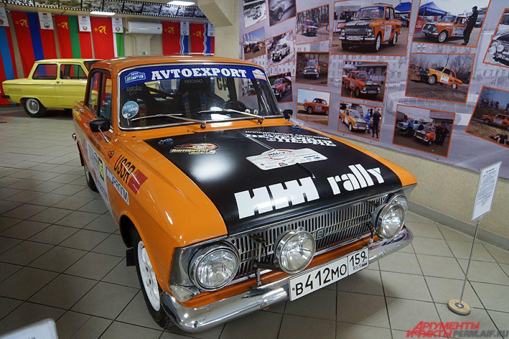 Москвич-412 — советский и российский автомобиль II группы малого класса, выпускавшийся в Москве на заводе МЗМА, позднее переименованном в АЗЛК, с 1967 по 1977 год и на автомобильном заводе в Ижевске с 1968 по 2001 год. Данная модель неоднократно участвовала в раллийных соревнованиях.