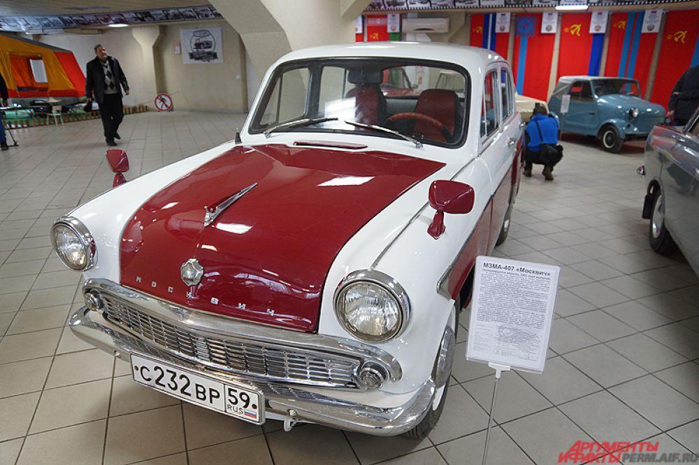 МЗМА-407 «Москвич». Экспонируется образец 1963 года.