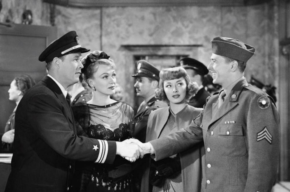 После возвращения со службы Рейган продолжал сниматься в кино. В большинстве случаев это были малобюджетные фильмы, рассчитанные на небольшую аудиторию.  1947 год, в фильме «Голос черепахи».