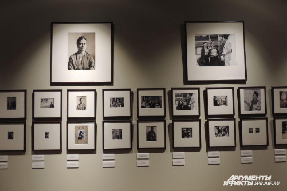 На выставке представлены фотографии художницы разных лет
