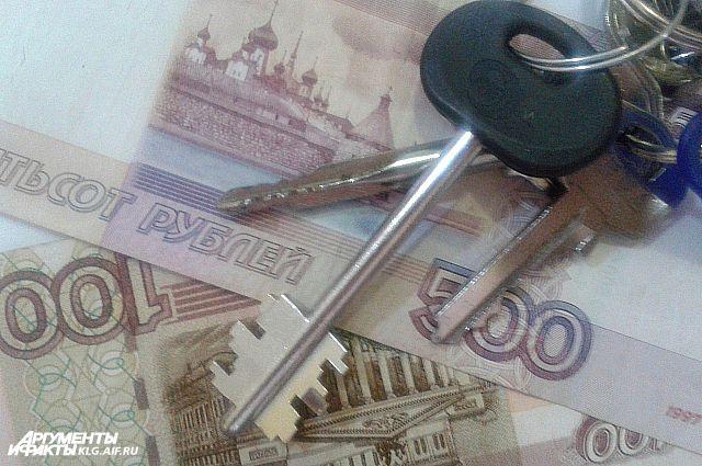 Приставы арестовали квартиру жителя Черняховска из-за его долга кредиторам.