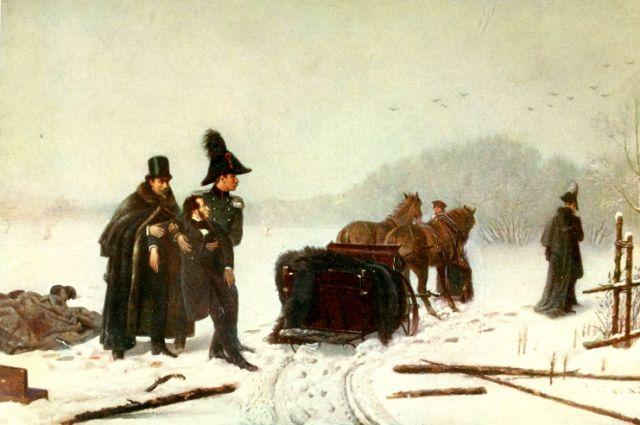 Пушкин и  Данзас никогда не были близкими друзьями
