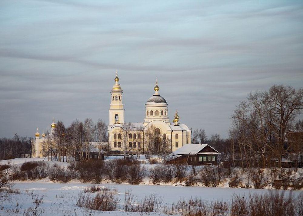 Меркушино – место жизни самого любимого святого на Урале, праведного Симеона Верхотурского.