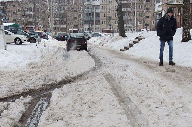 Неубранные дворы стали настоящим бедствием для ярославцев.