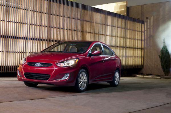 Hyundai Accent является лидером в трёх субъектах РФ.