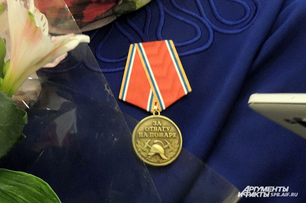 Медаль «За отвагу на пожаре» есть не у каждого профессионального пожарного