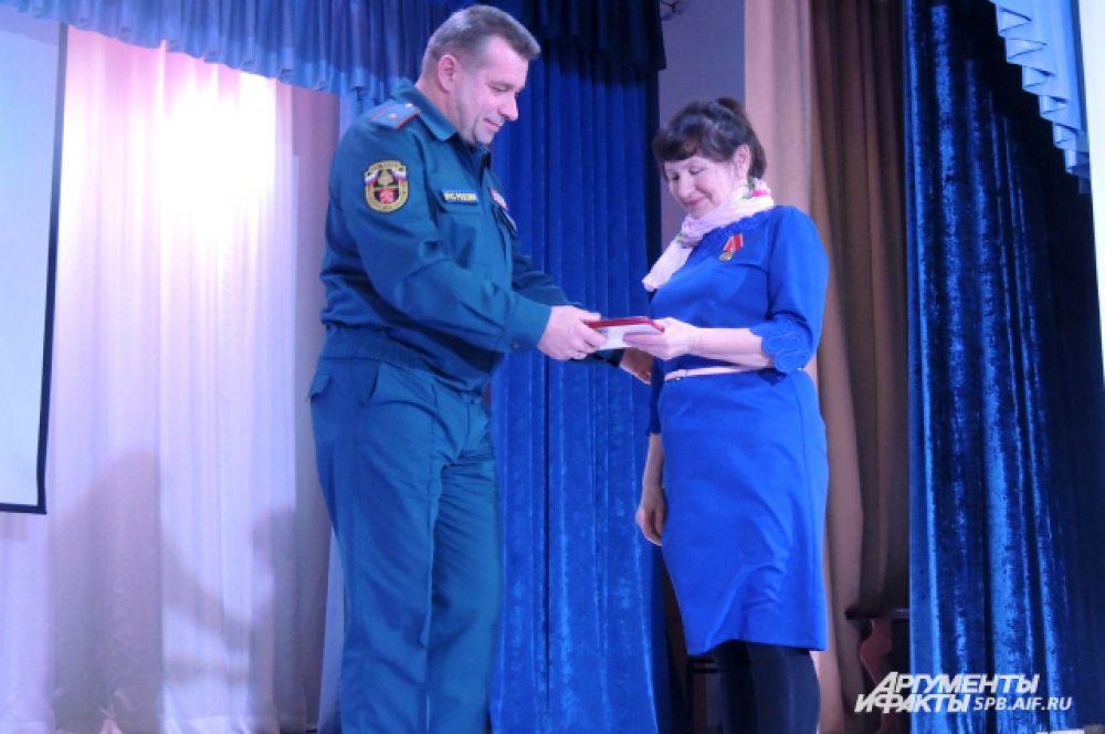 Тамара Пастухова - одна из немногих обладателей медали «За отвагу на пожаре»